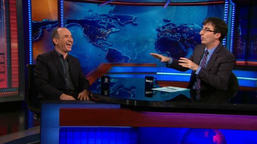 Armando Iannucci | June 11th 2013 | The Daily Show with Jon Stewart