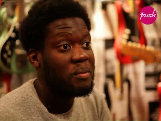 PUSH - Michael Kiwanuka - Interview
