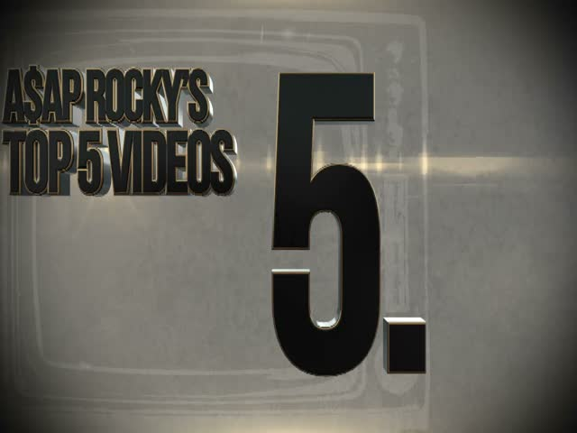 Le top 5 des clips prfrs d'A$AP Rocky : Scream