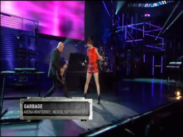 MTV World Stage | Garbage ao vivo em Monterrey, Mexico