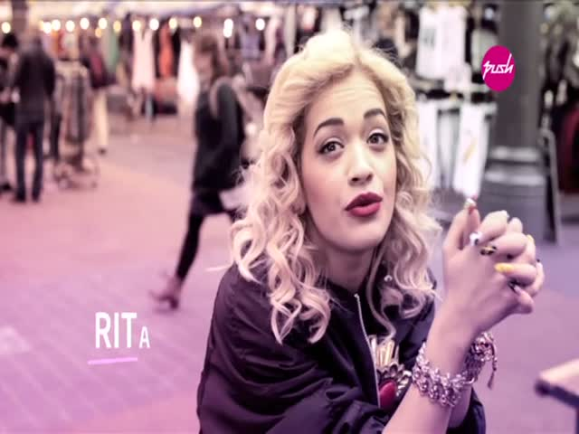 MTV PUSH Exclusive Interview - Rita Ora