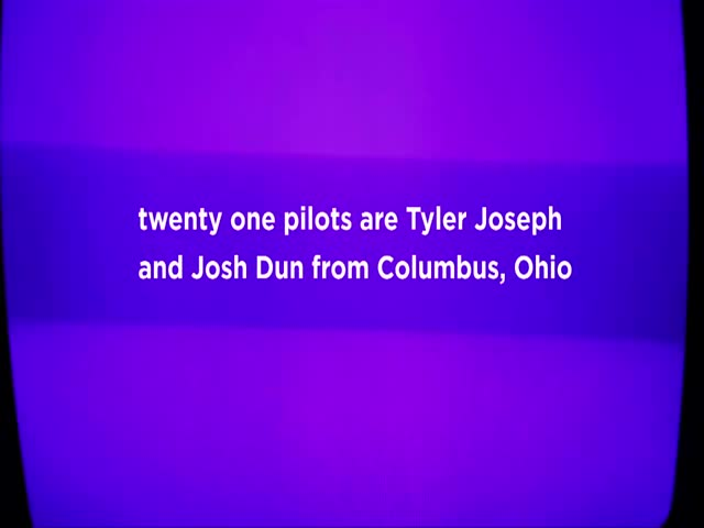 MTV PUSH - twenty one pilots - Voices