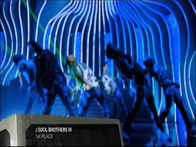 1st Place - J Soul Brothers III, Live in Tokyo, Japan, 2012