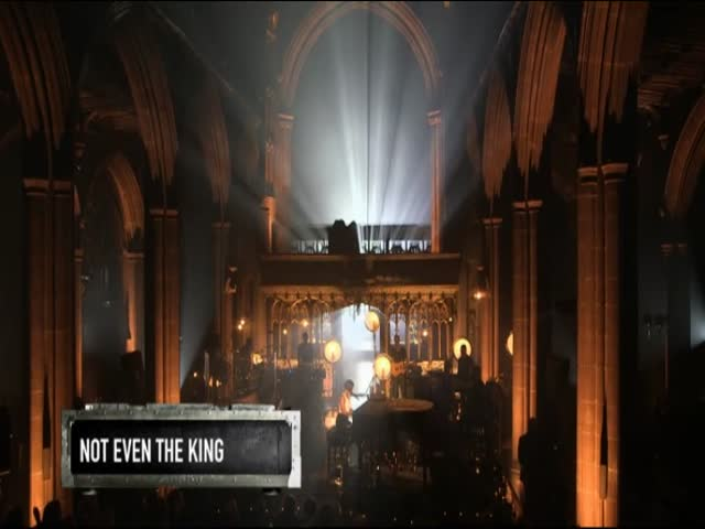 Not Even The King - Live at Manchester Cathedral, UK