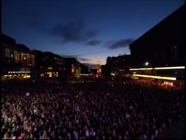 Spirit Indestructable - Live at Götaplatsen, Gothenburg, Sweden
