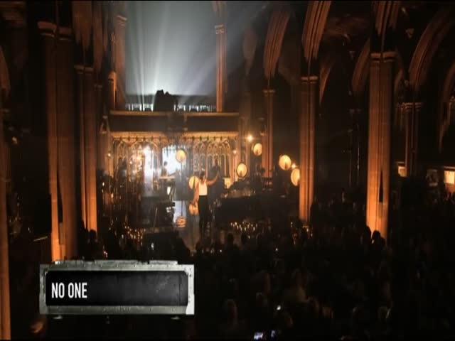 No One - Live at Manchester Cathedral, UK