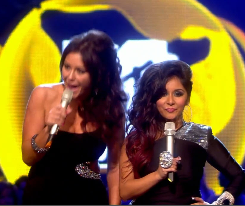 2011 EMA - Main Show | Part 5 | Snooki and JWOWW present