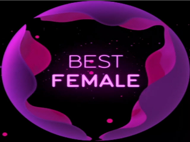 2011 EMA - Main Show | Part 18 | EVS: AWARD 2 - BEST FEMALE