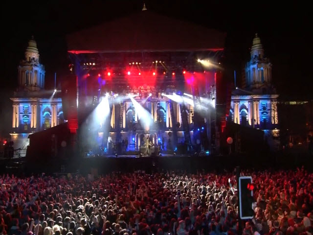 2011 EMA - Main Show | Part 57 | EVS: TRAIL - SNOW PATROL (FROM OB ON NIGHT)