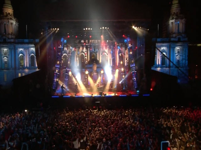 2011 EMA - Main Show | Part 62 | Performance 8 (OB 1) Snow Patrol 'Called Out In The Dark' (UMG)