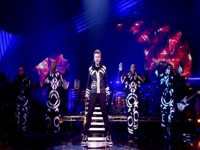 Never Say Never / Mistletoe Medley - Live at the Odyssey Arena Belfast, Ireland 2011