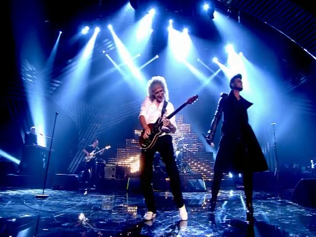 2011 EMA - Main Show | Part 86a | Performance 11: Queen feat Adam Lambert &quot;The Show Must Go On&quot; (UMG)