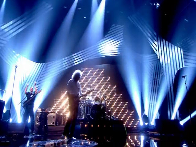 "2011 EMA - Main Show | Part 86b | Performance 11: QUEEN feat Adam Lambert ""We Will Rock You / We are the Champions"""