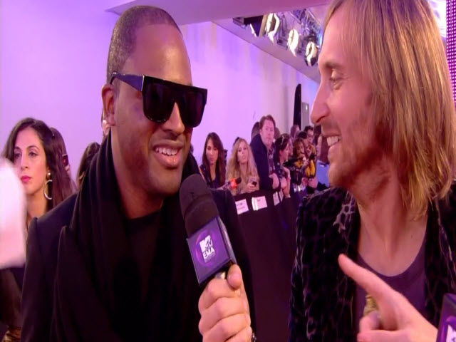 2011 EMA - Red Carpet | Part 9 | Interview w/ David Guetta and Taio Cruze