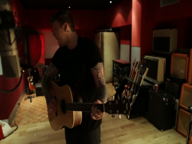 In the Studio with James Arthur
