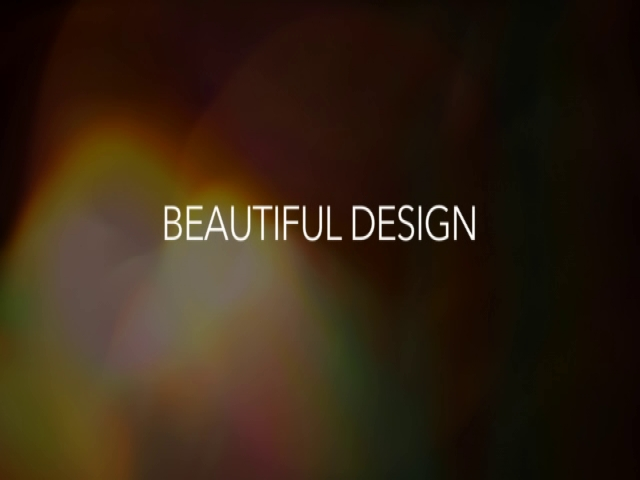 "Rebecca Discusses ""Beautiful Design"""
