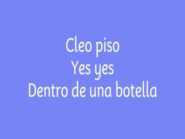Popurrí De Goma 2 (Cleo Piso/ Yes, Yes/ Dentro de una Botella)