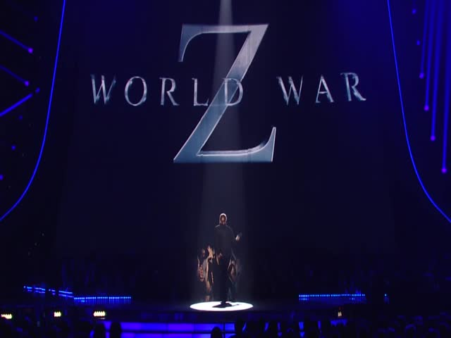 """World War Z' Star Brad Pitt Introduces The Movie Of The Year Nominees"""