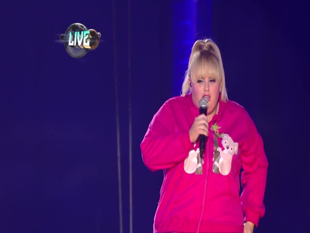 """Rebel Wilson And The Cast Of 'Pitch Perfect' Perform"""
