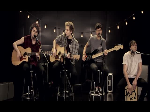 "MTV PUSH: 5 Seconds Of Summer ""Heartbreak Girl"" (Live - MTV PUSH Exclusive)"