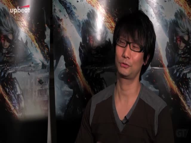 Metal Gear Rising: Revengeance - Hideo Kojima Interview