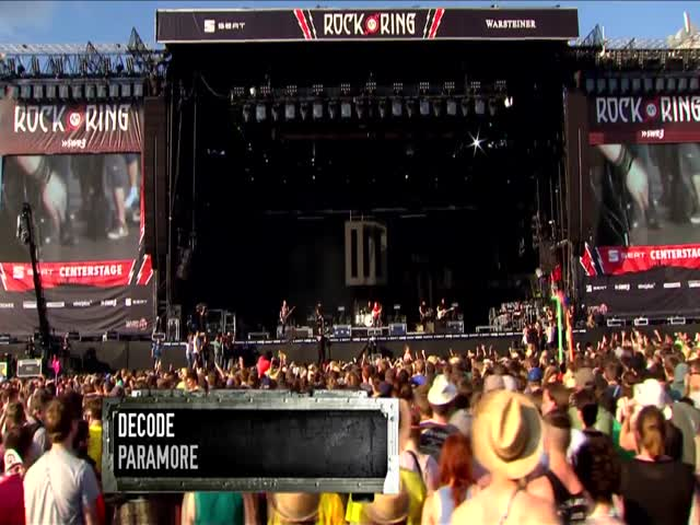 Decode - Live at Rock am Ring 2013, Germany