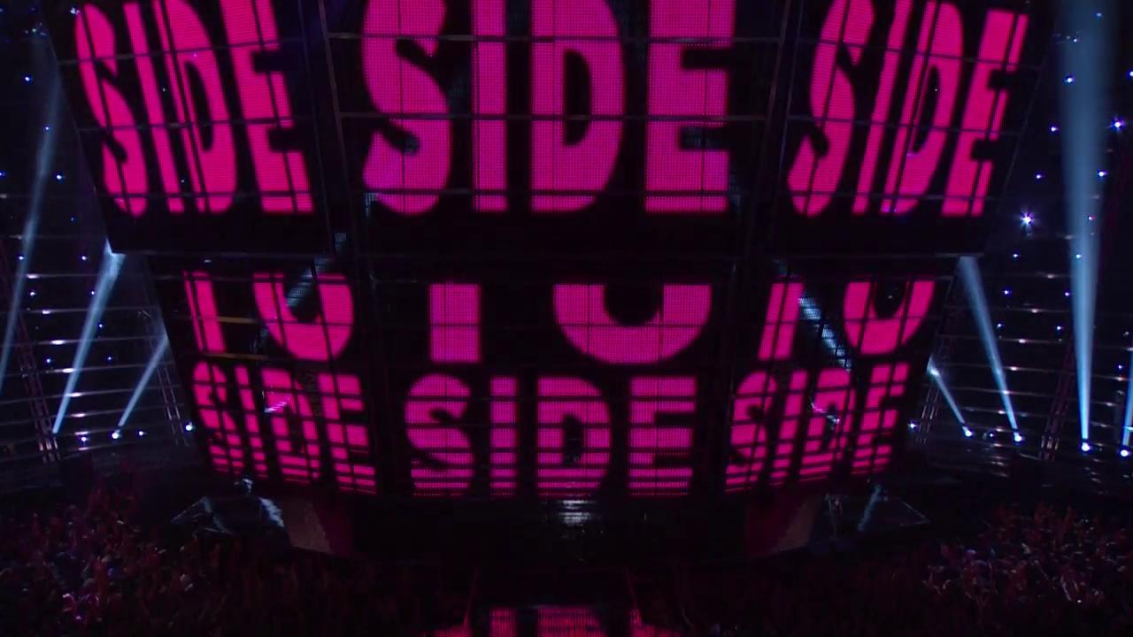 """Ariana Grande e Nicki Minaj se juntam em """"Side To Side"""" no palco do VMA 2016"""