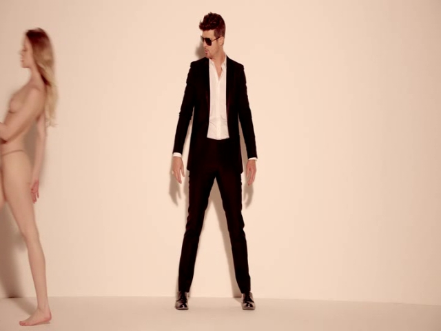Blurred Lines | Robin Thicke | Music Video | MTV Asia