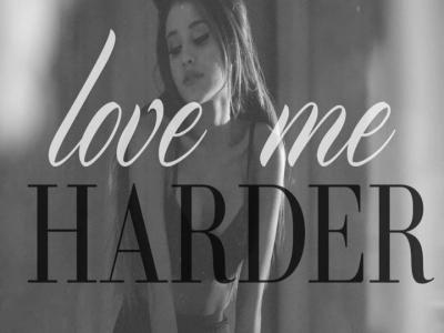 Love Me Harder